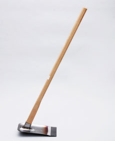 【家庭菜園鍬「極」(大)】の全形イメージ